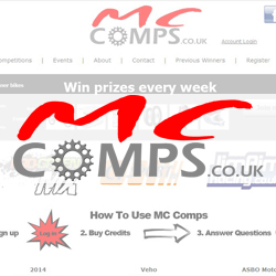 MC Comps Logo & Competition Website