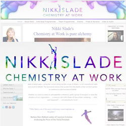 Nikki Slade Website and iPhone Apps